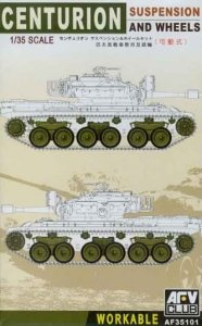 AFV CLUB 35101 - 1:35 Centurion Suspension and whells