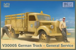IBG 72071 - 1:72 V3000S German Truck - General service