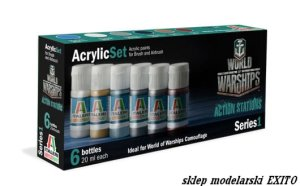 ITALERI  447 AP - World of Warships - Acriylic Set