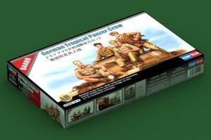 HOBBY BOSS 84409 - 1:35 German Tropical Panzer Crew