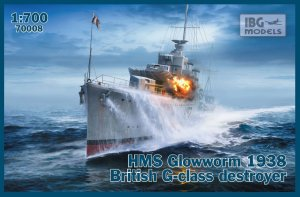 IBG 70008 - 1:700 HMS Glowworm 1938 British G-class destroyer
