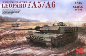 BORDER BT002 - 1:35 Leopard A5 / A6 Early & A6 Late