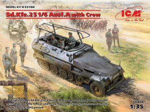 ICM 35104 - 1:35 Sd.Kfz.251/6 Ausf.A with Crew