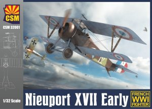 COPPER STATE MODELS CSM 32001 - 1:32 Nieuport XVII Early