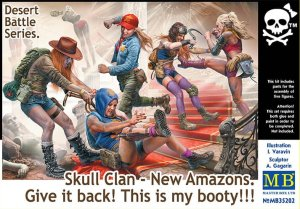 MASTER BOX 35202 - 1:35 Skull Clan - New Amazons. Give it back! This is my booty
