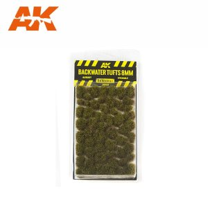 AK INTERACTIVE 8128 - Backwater Tufts 8 mm - kępy traw 8 mm