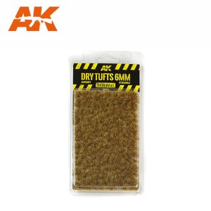 AK INTERACTIVE 8117 - Dry Tufts 6 mm - kępy traw 6 mm