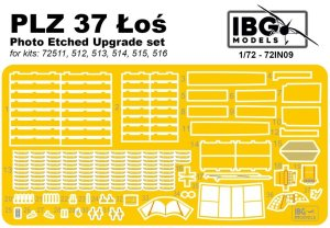 IBG 72IN09 - 1:72 PZL 37 Łoś - Photo Etched Upgrade set