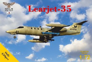 SOVA 72019 - 1:72 Learjet-35