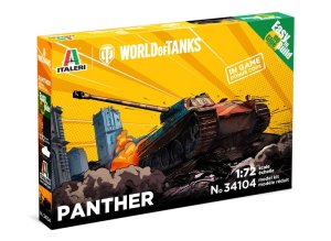 ITALERI 34104 - 1:72 World of Tanks - Panther