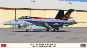 HASEGAWA 02309 - 1:72 F/A-18E Super Hornet VFA-14 Tophatters CAG