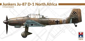 HOBBY 2000 72019 - 1:72 Junkers Ju-87 D-1 North Africa