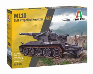 ITALERI 6574 - 1:35 M110 Self Propelled Howitzer