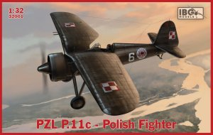IBG 32001 - 1:32 PZL P.11c - Polish Fighter