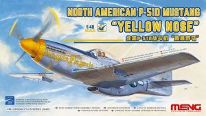 MENG MODEL LS009 - 1:48 North American P-51D Mustang Yellow Nose