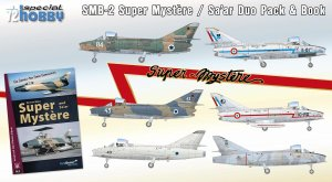SPECIAL HOBBY 72417 - 1:72 SMB-2 Super Mystere Duo Pack & Book