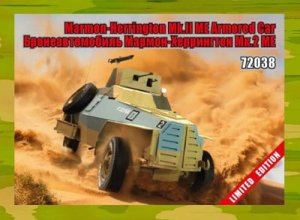 ZEBRANO 72038 - 1:72 Marmon-Herrington Mk.II ME Armored Car