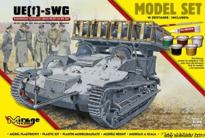 MIRAGE 835097 - 1:35 UE(f)-sWG 40/28 cm Wk Spr - Model Set