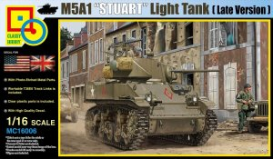 CLASSY HOBBY 16006 - 1:16 M5A1 Stuart Light Tank (Late Production)