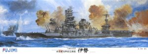 FUJIMI 600505 - 1:350 IJN Aviation Battleship Ise (with 634th Naval Air Group Zuiun 18 Pieces)