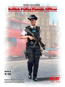 ICM 16009 - 1:16 British Police Female Officer