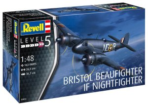 REVELL 03854 - 1:48 Bristol Beaufighter Mk.IF Nightfighter