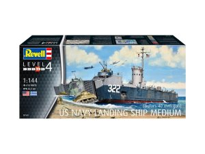 REVELL 05169 - 1:144 US Navy Landing Ship Medium (Bofors 40 mm gun)