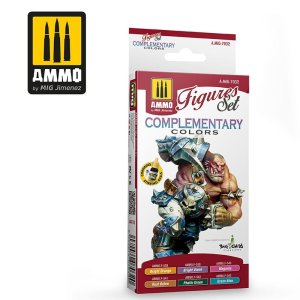 AMMO MIG 7032 - Complementary Colors - Figures Set 6 x 17 ml