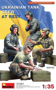 MINIART 37067 - 1:35 Ukrainian tank crew at rest