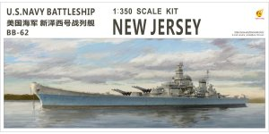 VERY FIRE VF350911 - 1:350 U.S. Navy Battleship New Jersey (BB-62)