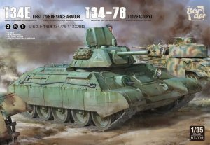 BORDER BT009 - 1:35 T-34E First Type of Spaced Armour / T-34-76 112 factory - Limited Edition