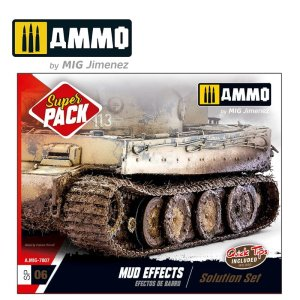 AMMO MIG 7807 - Mud Effects Solution Set - Super Pack