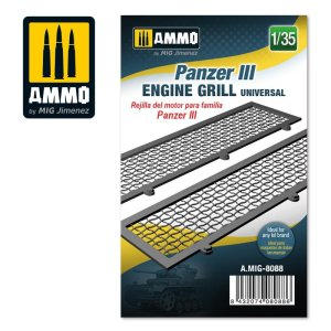 AMMO MIG 8088 - 1:35 Panzer III engine grilles universal