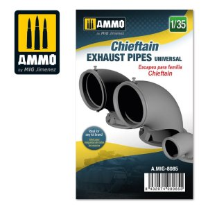 AMMO MIG 8085 - 1:35 Chieftain exhaust pipes universal