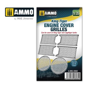 AMMO MIG 8082 - 1:35 King Tiger engine cover grilles