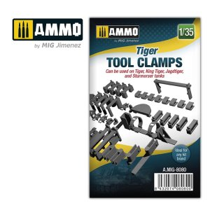 AMMO MIG 8080 - 1:35 Tiger tool clamps