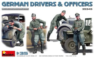 MINIART 35345 - 1:35 German Drivers & Officers