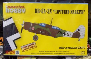 SPECIAL HOBBY 72296 - 1:72 Douglas DB-8A-3N German - Captured Marking