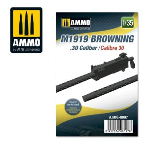 AMMO MIG 8097 - 1:35 M1919 Browning. 30 cal