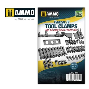 AMMO MIG 8081 - 1:35 Panzer IV tool clamps