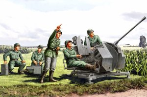 HOBBY BOSS 84412 - 1:35 20mm Flak 38 Figure Set