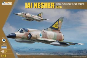 KINETIC 48056 - 1:48 IAI Nesher - Single/Double Seat