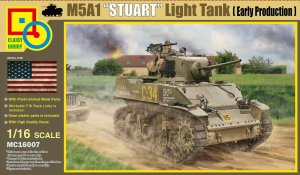 CLASSY HOBBY 16007 - 1:16 M5A1 Stuart Light Tank (Early Production)