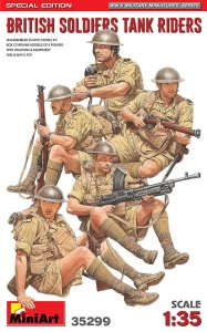 MINIART 35299 - 1:35 British Soldiers Tank Riders Special Edition