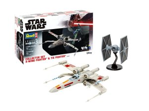 REVELL 06054 - 1:57 & 1:65 Collector Set X-Wing Fighter & TIE Fighter