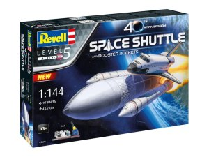 REVELL 05674 - 1:144 Space Shuttle with Booster Rockets - 40th Anniversary