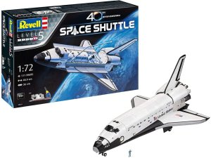 REVELL 05673 - 1:72 Space Shuttle - 40th Anniversary