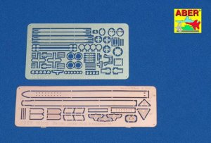 ABER 16011 - 1:16 German Panzer troops accessories