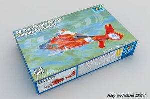 TRUMPETER 05107 - 1:35 US Coast Guard HH-65C Dolphin Helicopter
