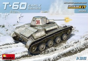 MINIART 35215 - 1:35 T-60 Early series w/ interior - Soviet light tank